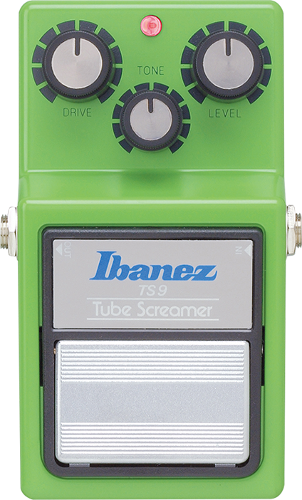 Ibanez Effektpedal Tubescreamer TS9 - analoges Overdrive Pedal