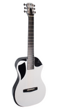 Journey Instruments Reisegitarre Carbon Weiss Hochglanz OF660W1