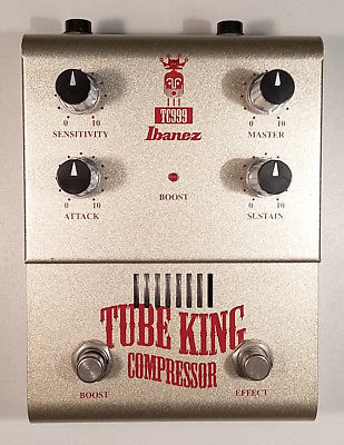 Ibanez Effektpedal TC999 Tube King - Analog Röhrenkompressor Tube Booster