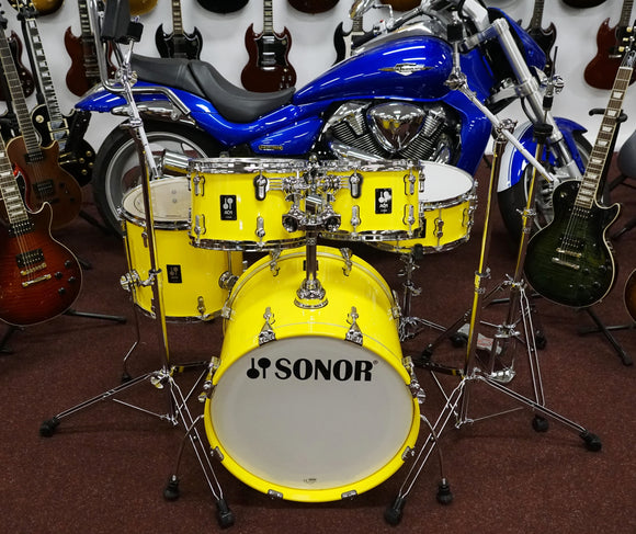Sonor AQ1 Studio Lite Yellow mit HS2000 Hardware