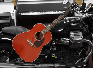 Gibson Acoustic J-45 Standard Custom Shop Cherry Red Limited Edition inkl. Originalkoffer