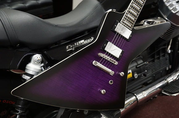 Epiphone by Gibson Extura Prophecy Purple Tiger Aged Gloss