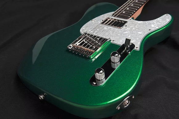 G&L ASAT Bluesboy 35th Anniversary Limited Edition Tele Emeral Green Metallic inkl. Originalkoffer