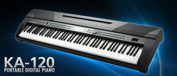 Kurzweil KA-120 portable Digital Piano / Home Piano / E-Piano