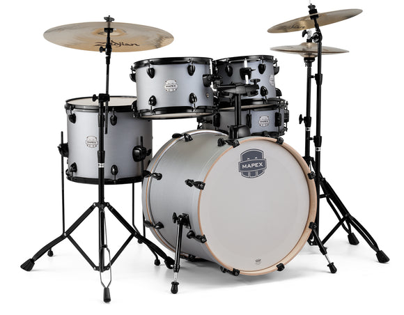 Mapex Drumset Storm Fusion in Iron Grey inkl. Sabian B8 Beckensatz