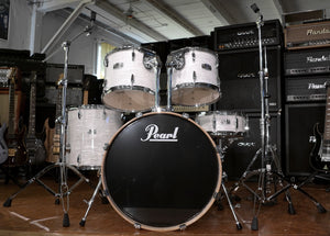 Pearl Drumset ELX in Sugar White Pearl Effect inklusive Originalhardware - Occasion