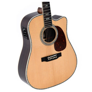Sigma SG-DTC-41E+ Acoustic Steel String Guitar mit Fishman Tonabnehmersystem