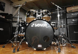 Sonor Schlagzeug Select Force Stage 2 Set Schlagzeug in Piano Black - Vorführmodell