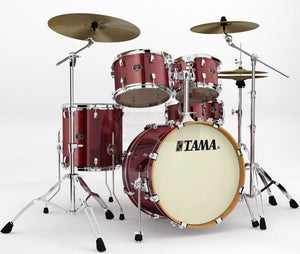 Tama Silverstar VD50RS-DRS Dark Red Sparkle inkl. Hardware
