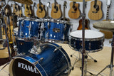 Tama Drumset Imperialstar in Hairline Blue inklusive Zildjian Planet Z Cymbalsatz