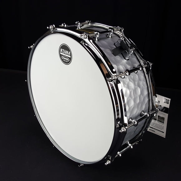 Tama Snare Drum LST1455H Vintage Hammered Steel 1,2mm
