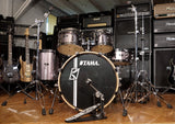Tama Drumset Superstar Hyperdrive Brushed Platinum Grey mit Hardware