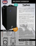 Wharfedale Typhon AX-12 Bluetooth aktive Lautsprecherboxe