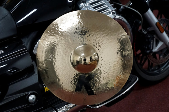 Zildjian K Custom Fast Crash Brilliant Finish 18-Zoll