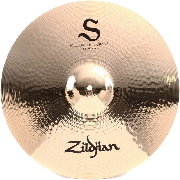 Zildjian S-Serie Medium Thin Crash 18 Inch