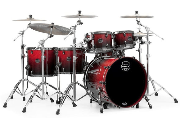 Mapex Drumset Saturn V Exotic Cherry Mist Maple Burl (Wolkenahorn)