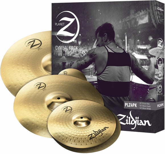 Zildjian Cymbalset Planet Z (Beckensatz), Ride, Crash, HiHat