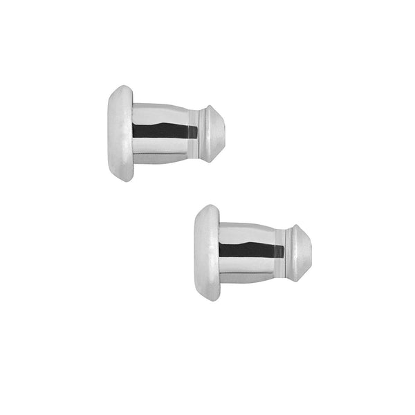 JewelMore LuxLock World's Most Secure USA Patented Replacement Earring Back in 925 Sterling Silver