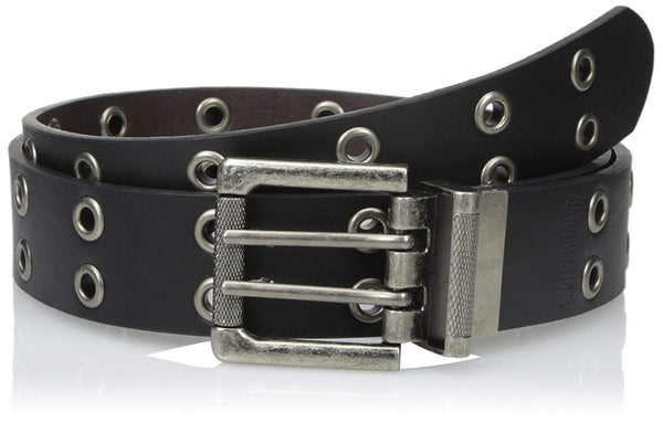 Wolverine Men's Leather Grommet Reversible Belt Black to Brown