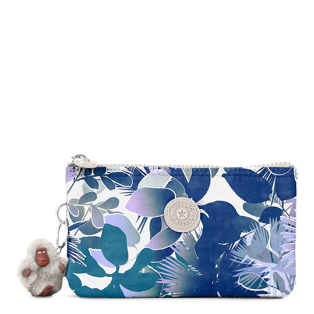 Kipling Creativity Large Pouch One Size Floral Lagoon