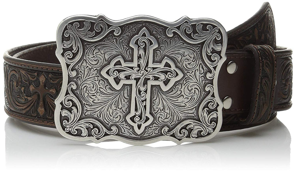 Nocona Women's Large Cross Buckle Belt