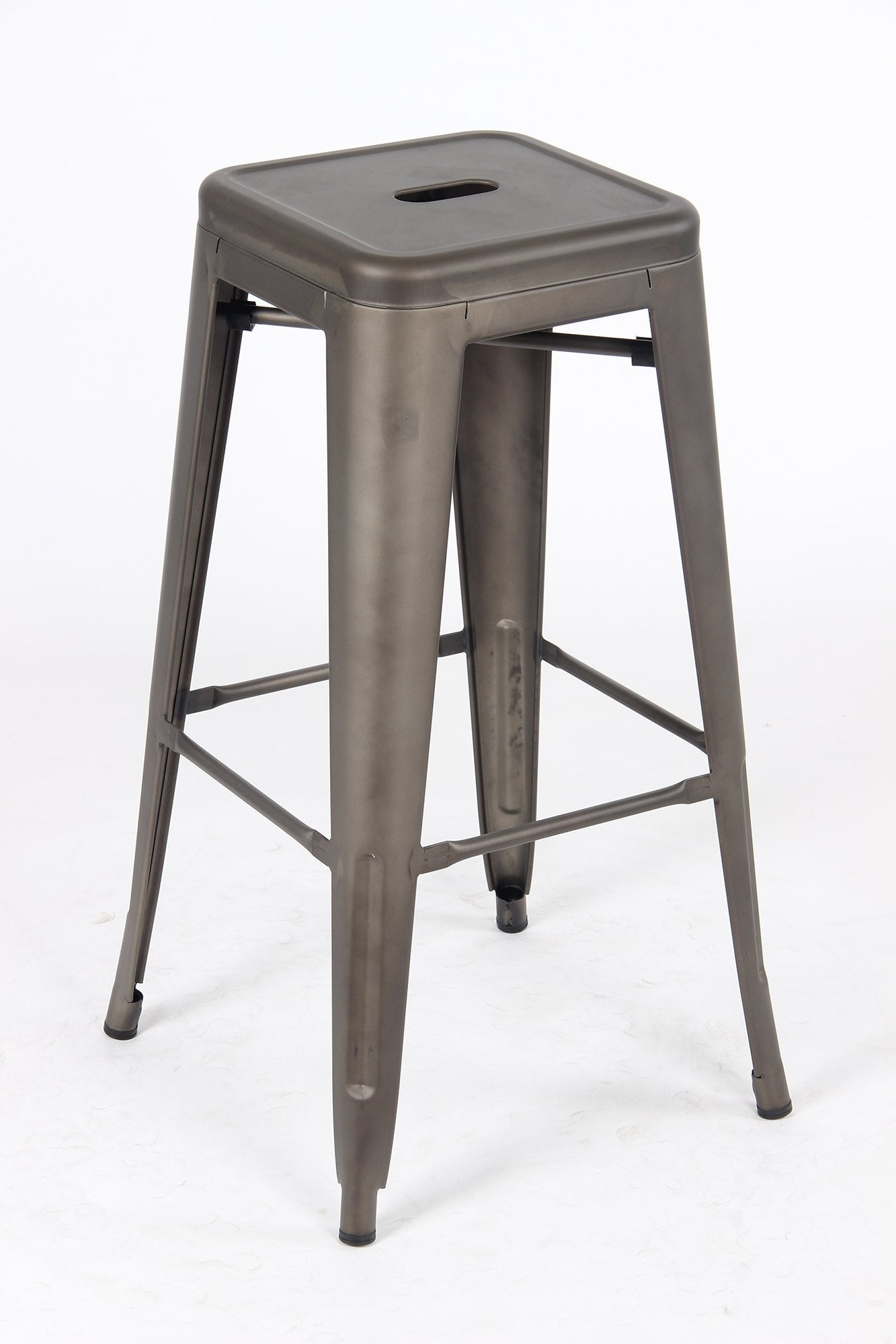 Sgabello Metal Stool - Gunmetal