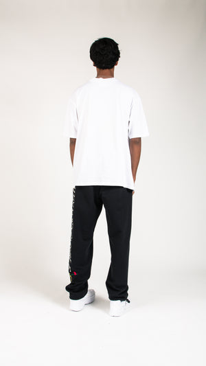 Embroidered Sweat Pants