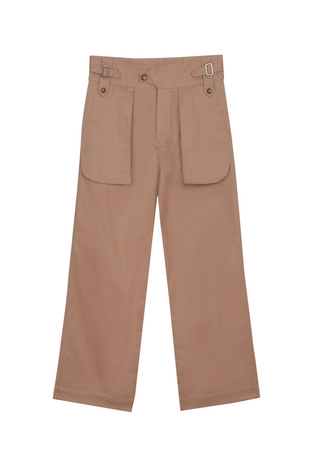 Multi Pocket Gabardine Pants