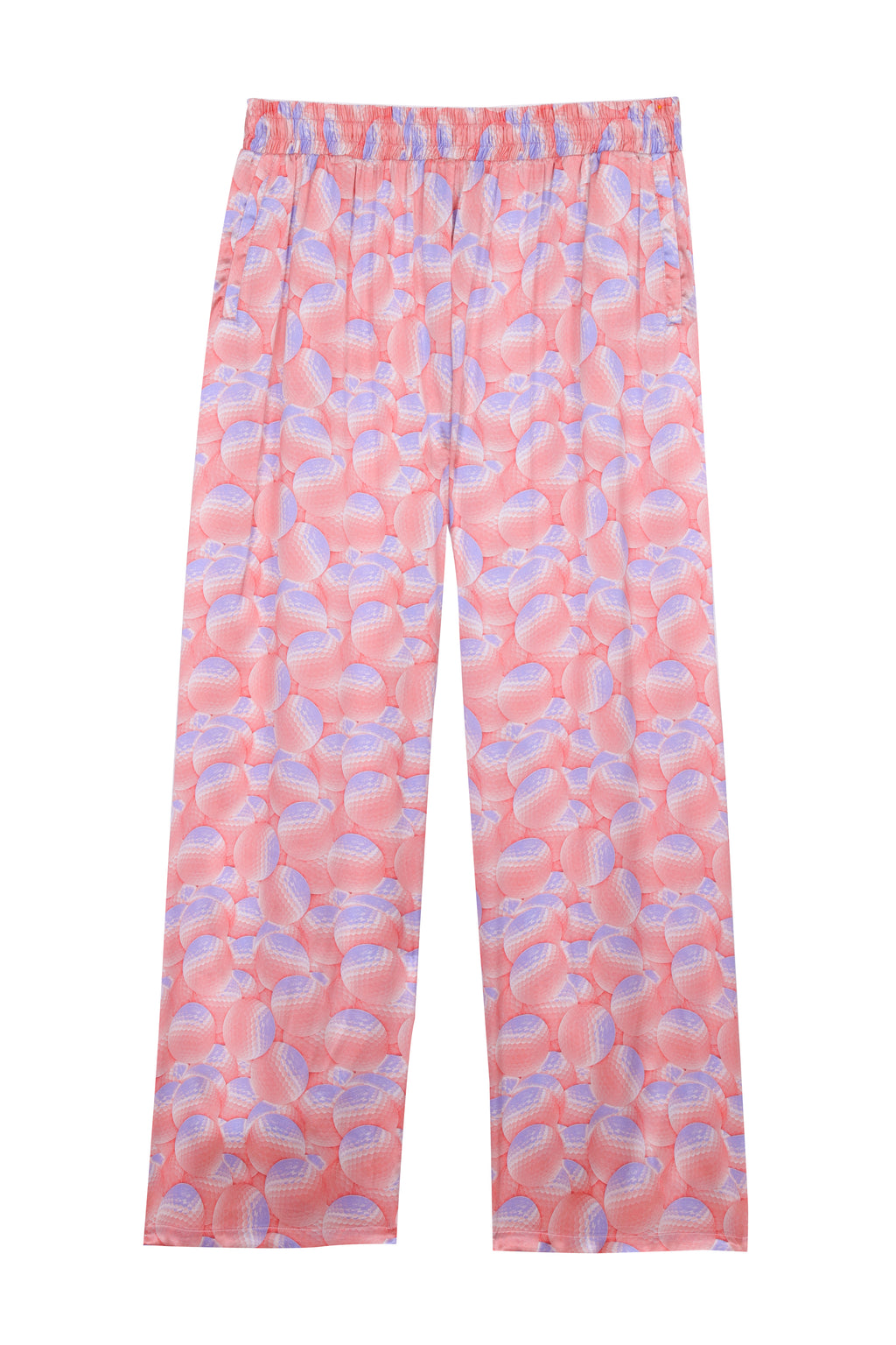 Printed Silk Pyjamas Pants (4578483372097)