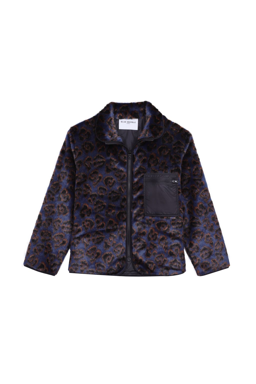 Printed Faux Fur Jacket (4578486353985)