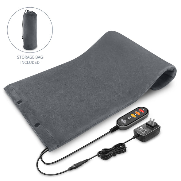 Comfier 3 Washable Heat Levels Heating Blanket Pad for Back Pain Relief - 6909