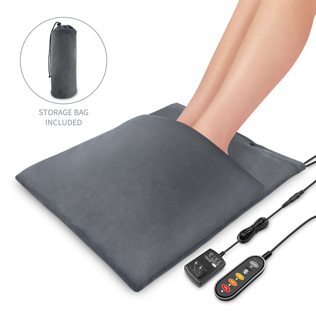Comfier 2-in-1 Back Pain & Cramps Relief Washable Foot Warmer and Heating Pad - 6908