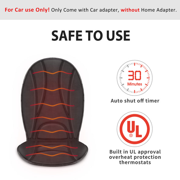 Standard Heated Car Seat Cushion Standard - 2105