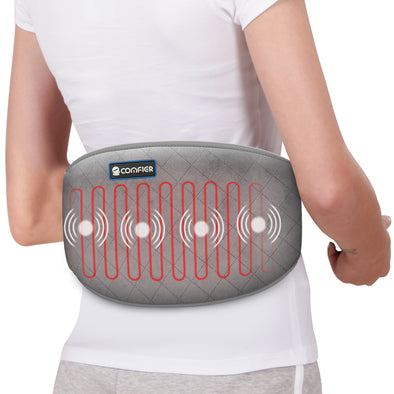 Comfier Heated Waist Massage Belt with Massager for Back Pain - 6006NG