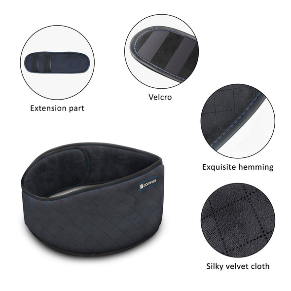 Heated Waist Belt Wrap with Vibration Massage - 6006N