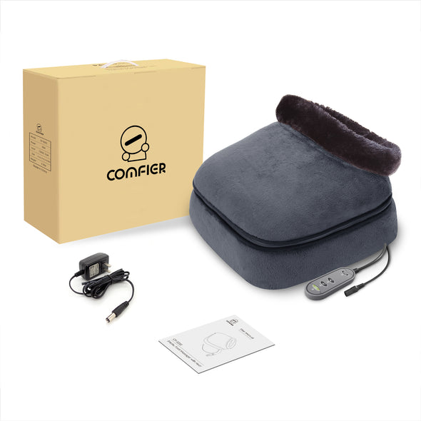 Comfier Kneading Shiatsu Foot & Back Massager with Heat - 5202S