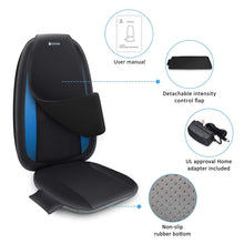 Load image into Gallery viewer, Comfier Shiatsu Back Massager with Heat -Deep Kneading Massage Seat Cushion