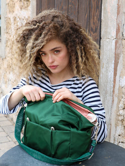 Allegra nylon satiné - Hunter Green
