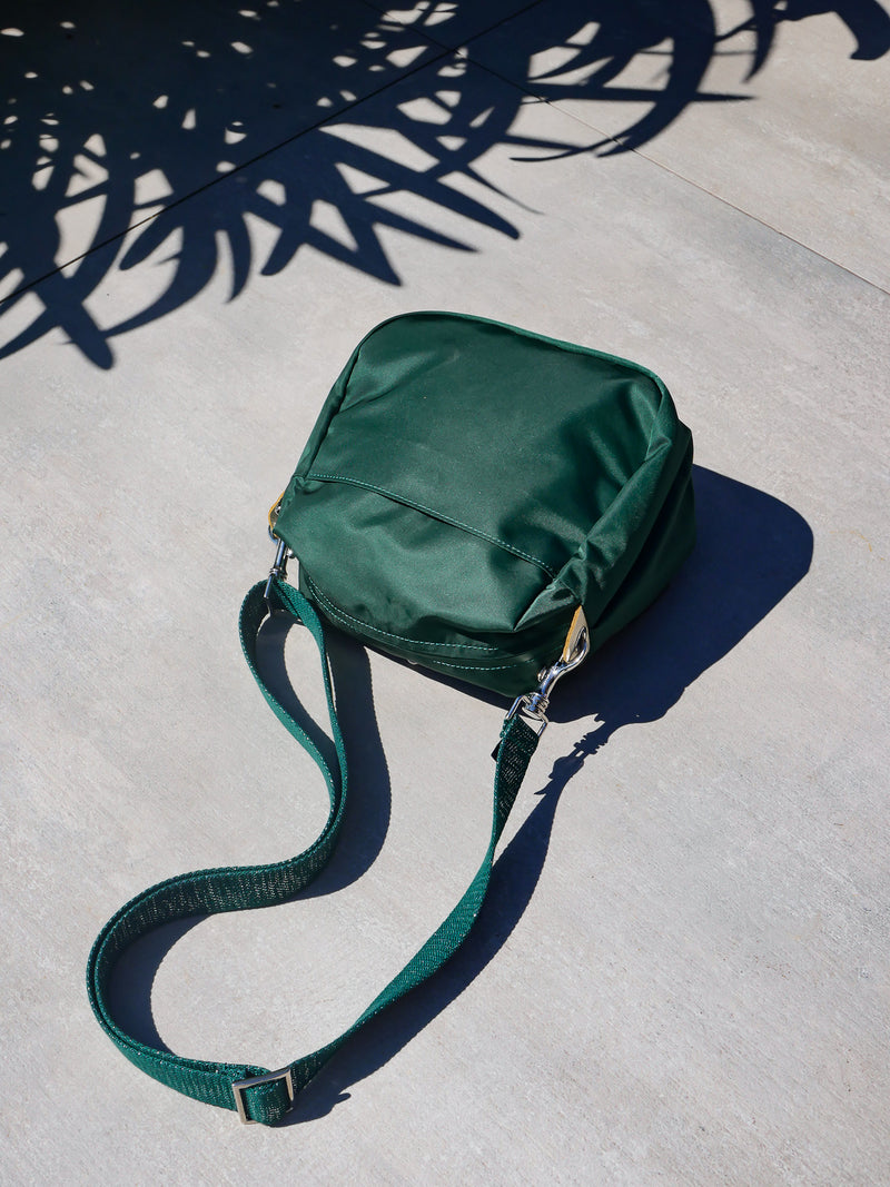 Baia nylon satiné - Hunter Green