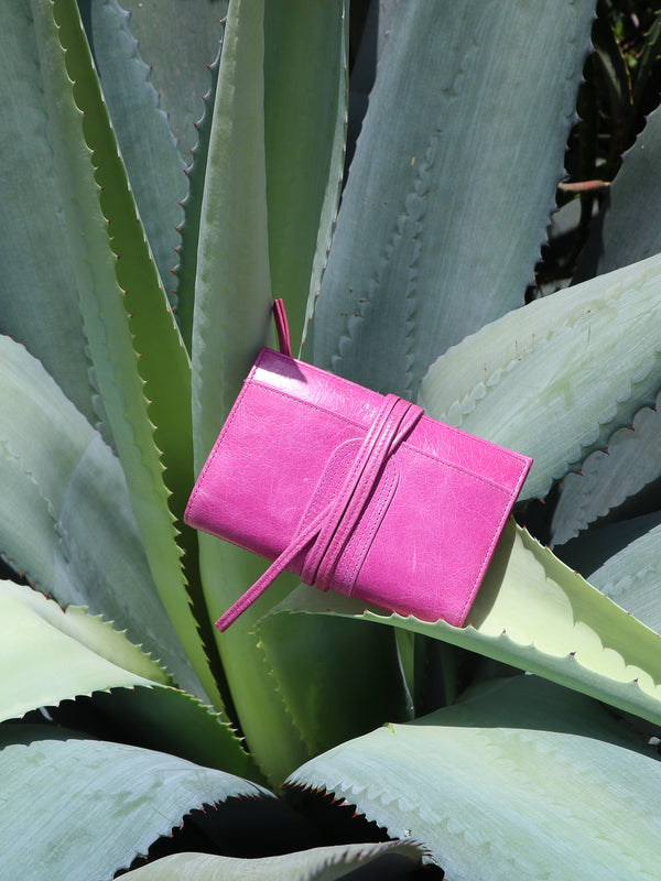Balat cuir antique - Hot Pink