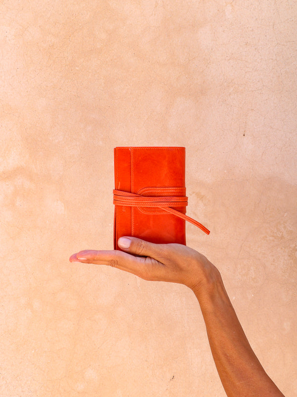 Balat cuir antique - Orange