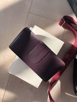 Byzance cuir dutch - Bordeaux