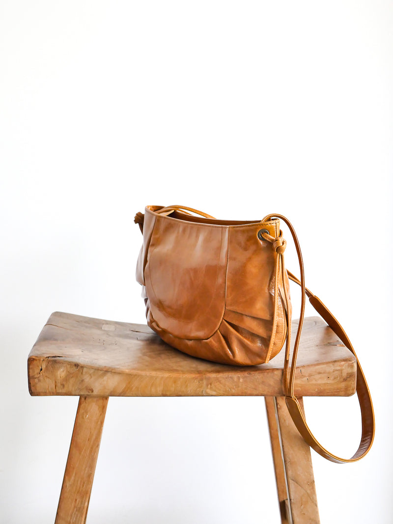 Carlotta cuir antique - Camel