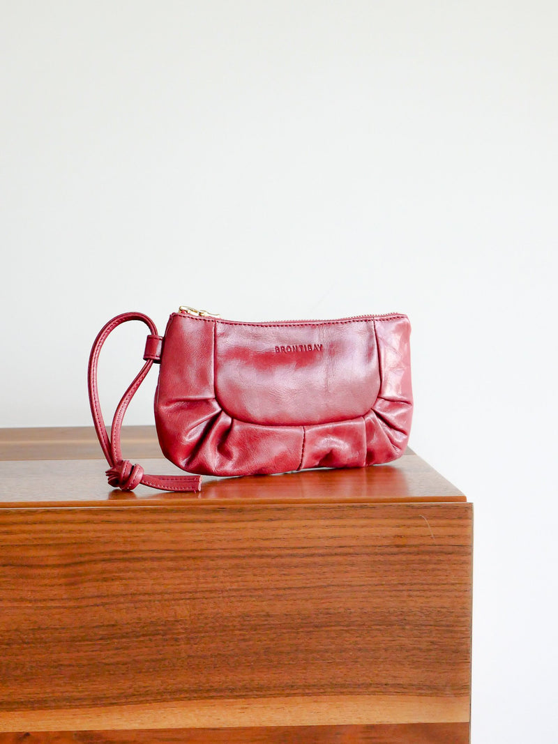 Izabel cuir antique - Strawberry