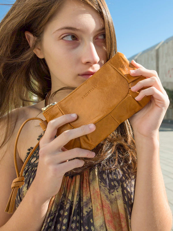 Izabel cuir antique - Camel