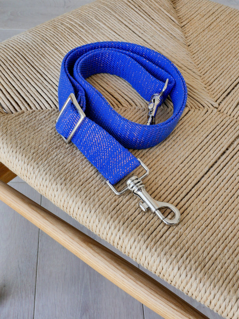 Kit Strap lurex - Bleu