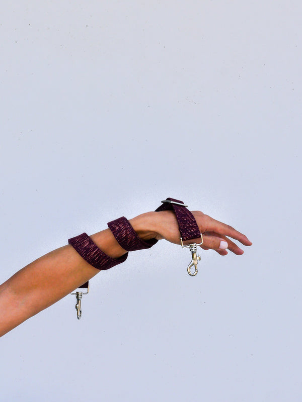 Kit Strap lurex - Bordeaux
