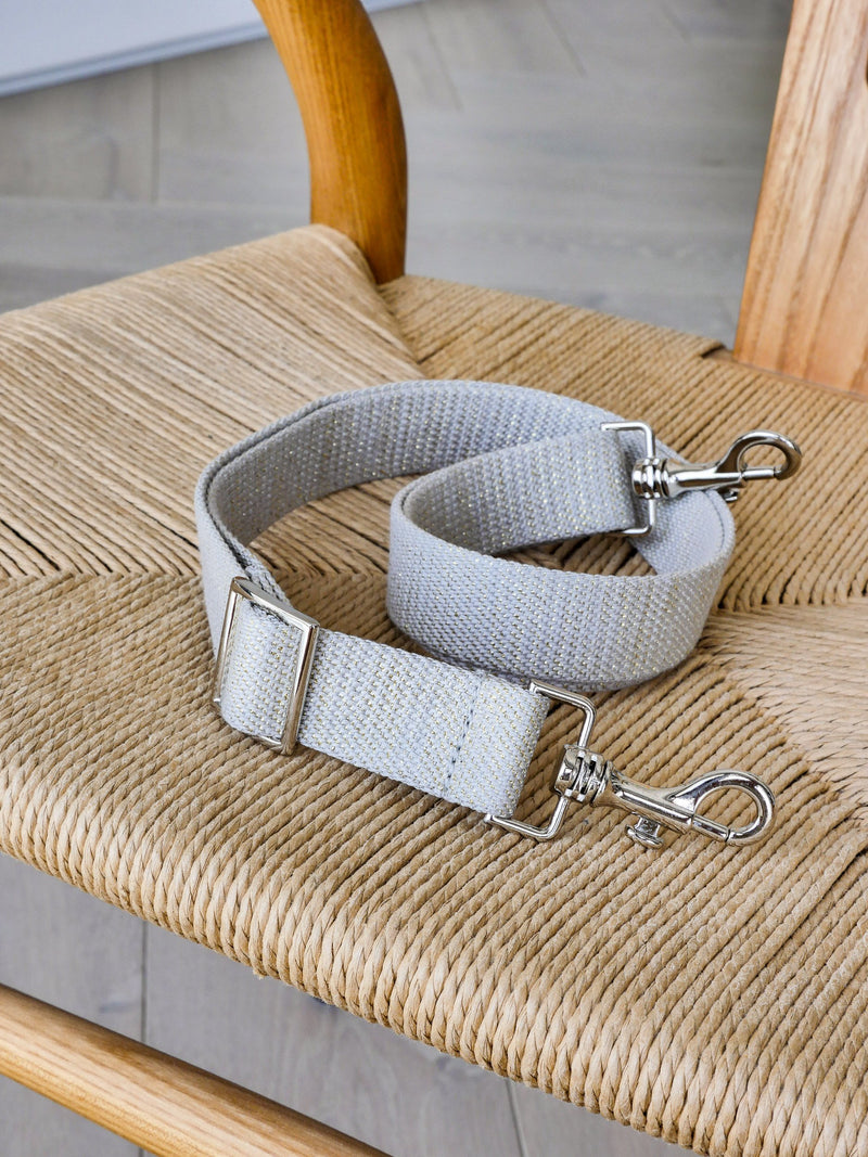Kit Strap lurex - Gris
