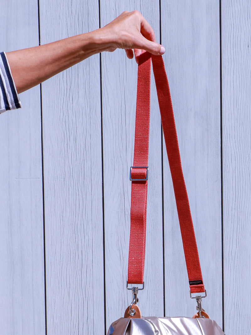 Kit Strap lurex - Terracotta
