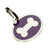 Purple Bone Styled Pet Tag